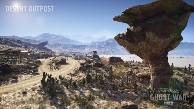 Ghost Recon Wildlands Desert Outpost