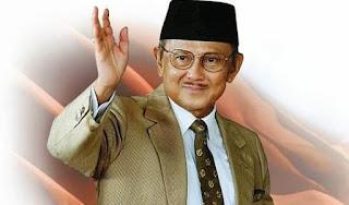 Biografi BJ Habibie Presiden RI ke -3 Ahli Pesawat Terbang