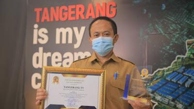 Tangerang TV Raih Penghargaan dari Kantor Bahasa Banten