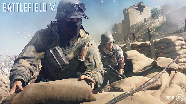 الكشف عن الحجم النهائي للعبة Battlefield V على جهاز بلايستيشن 4 ، لنشاهد الصورة من هنا ..