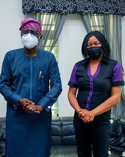Gov Sanwo-olu Pays Condolence Visit To The Family Of Late Yinka Odumakin [PHOTOS]
