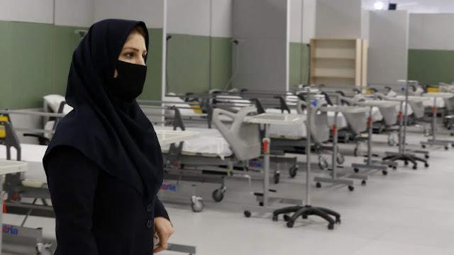Irán confirma 44.606 casos de COVID-19