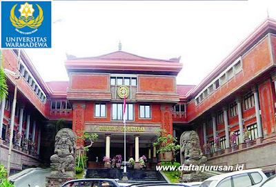 Daftar Fakultas dan Program Studi UNWAR Universitas Warmadewa Denpasar