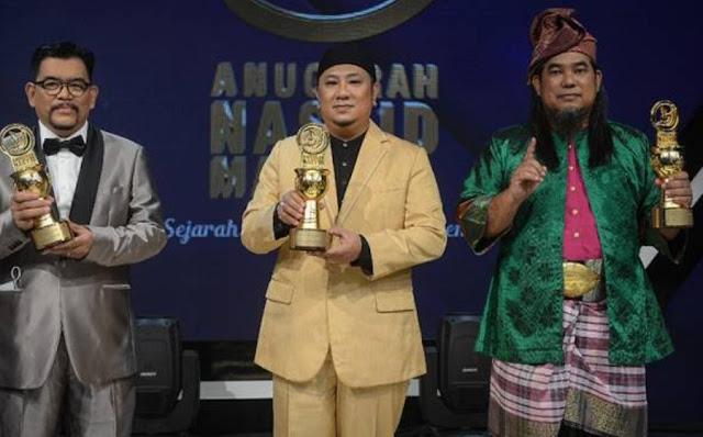 #ANAM2020 : Lagu Ittihad Nyanyian Rabbani Dinobat Sebagai Laju Nasyid Terbaik Tahun 2020