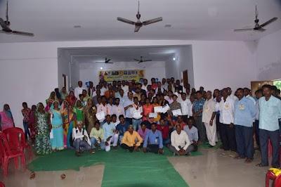 अखिल भारतीय रजक महासंघ नवानगर सामुदायिक भवन मे संभागीय कार्यक्रम सपन्न् हुआ