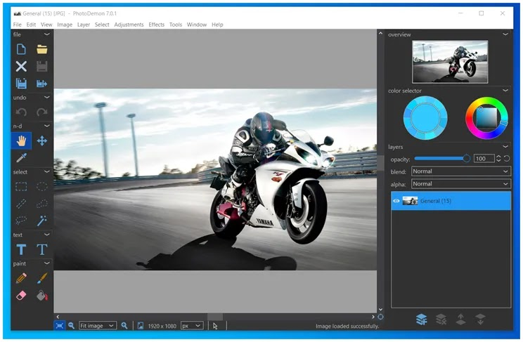 PhotoDemon  :   Δωρεάν, φορητό πρόγραμμα επεξεργασίας φωτογραφιών