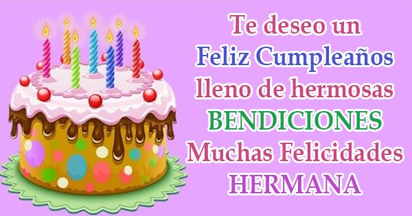 🥳 Tarjetas de Cumpleaños para Felicitar a una Hermana