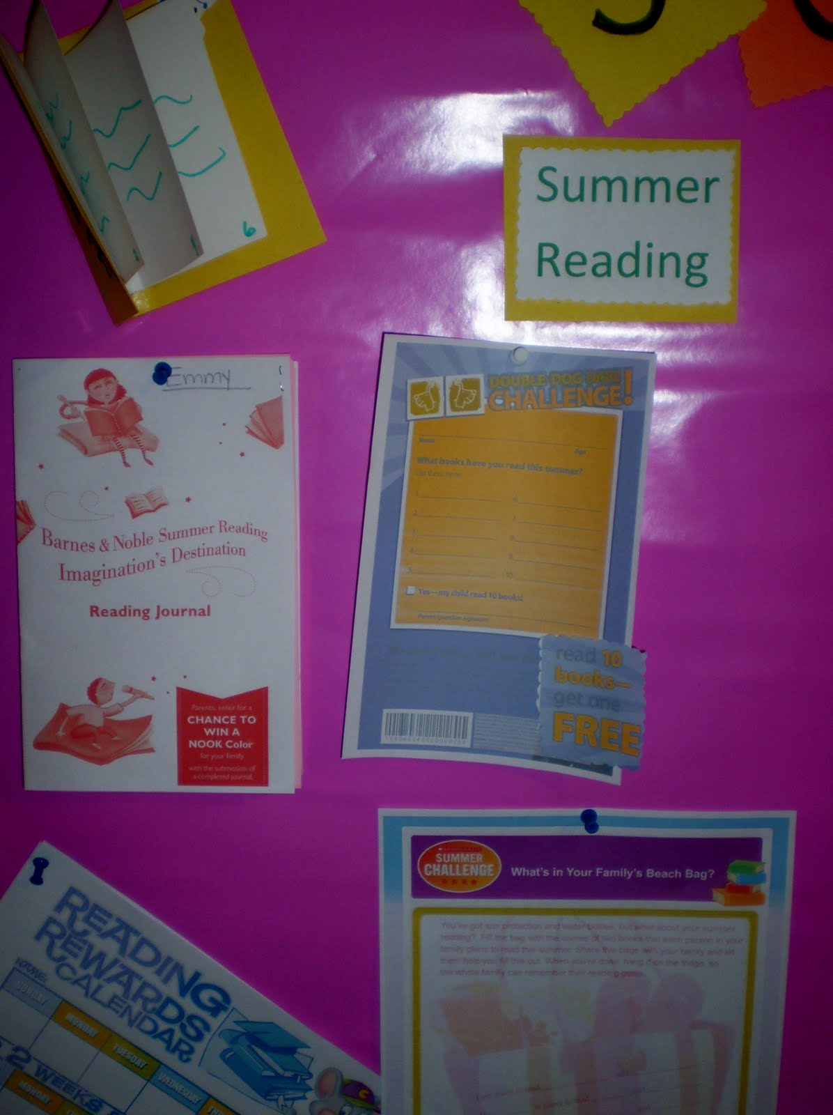 Creative And Curious Kids Summer Activity Board