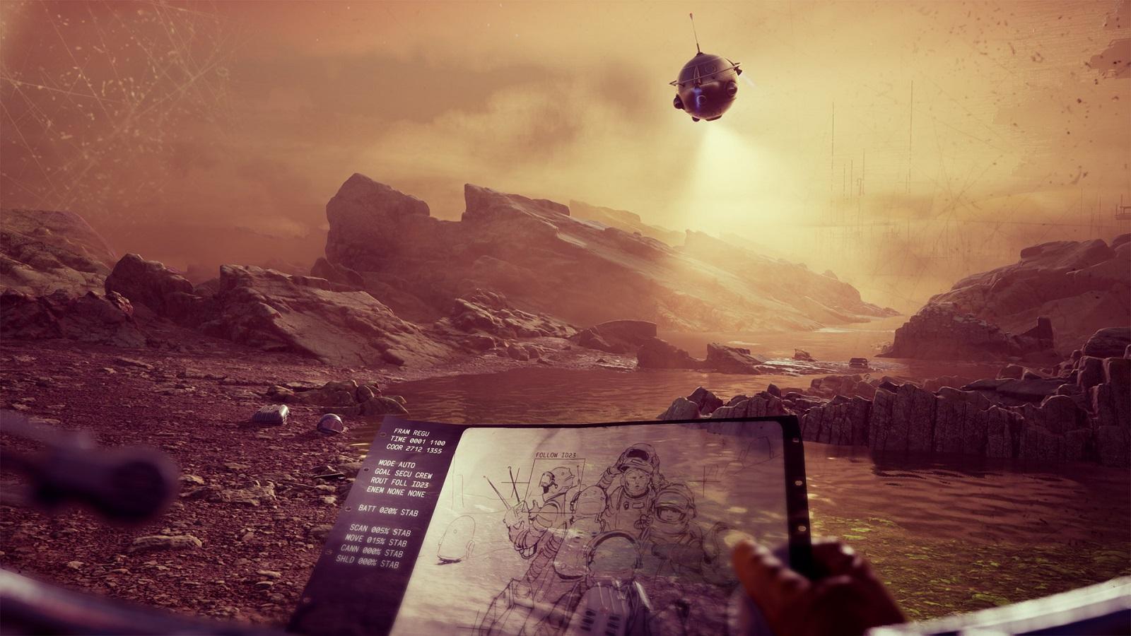 Бывшие сотрудники CD Projekt RED и Techland анонсировали приключение The Invincible по роману Станислава Лема - 01