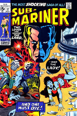 Sub-Mariner #37, the death of Lady Dorma