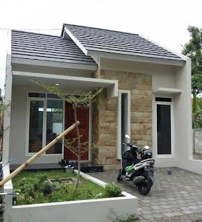 Desain rumah minimalis 6 x 11 tampak depan