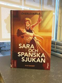 Bild på boken Sara och spanska sjukan