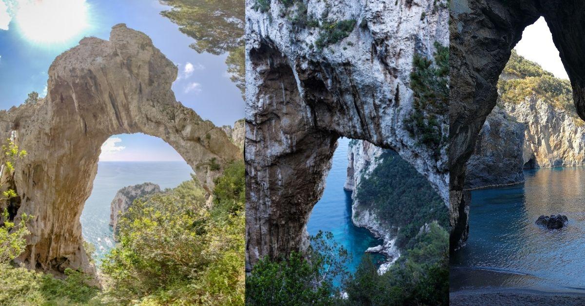 Capri Island - Turquoise Beaches And Celebrity Destination - Arco Naturale - Moniedism