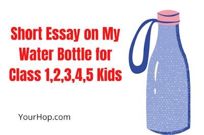 Essay on My Water Bottle