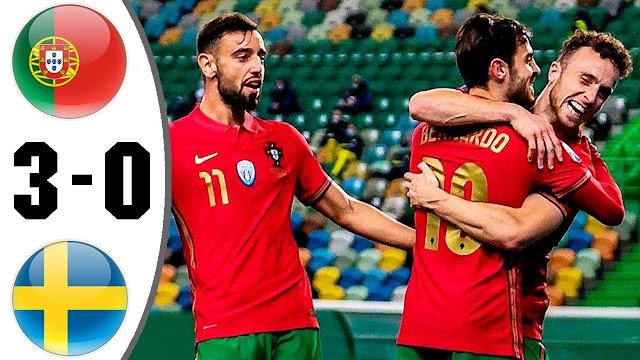 highlights tructiepbongda k+ Bồ Đào Nha vs Thụy Điển
