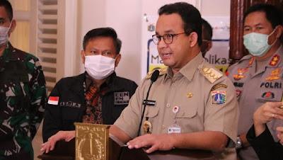 Kaum Rebahan ID Anies Baswedan Perpanjang PSBB