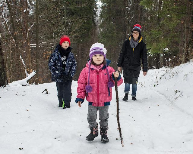 zimowe spacery po górach