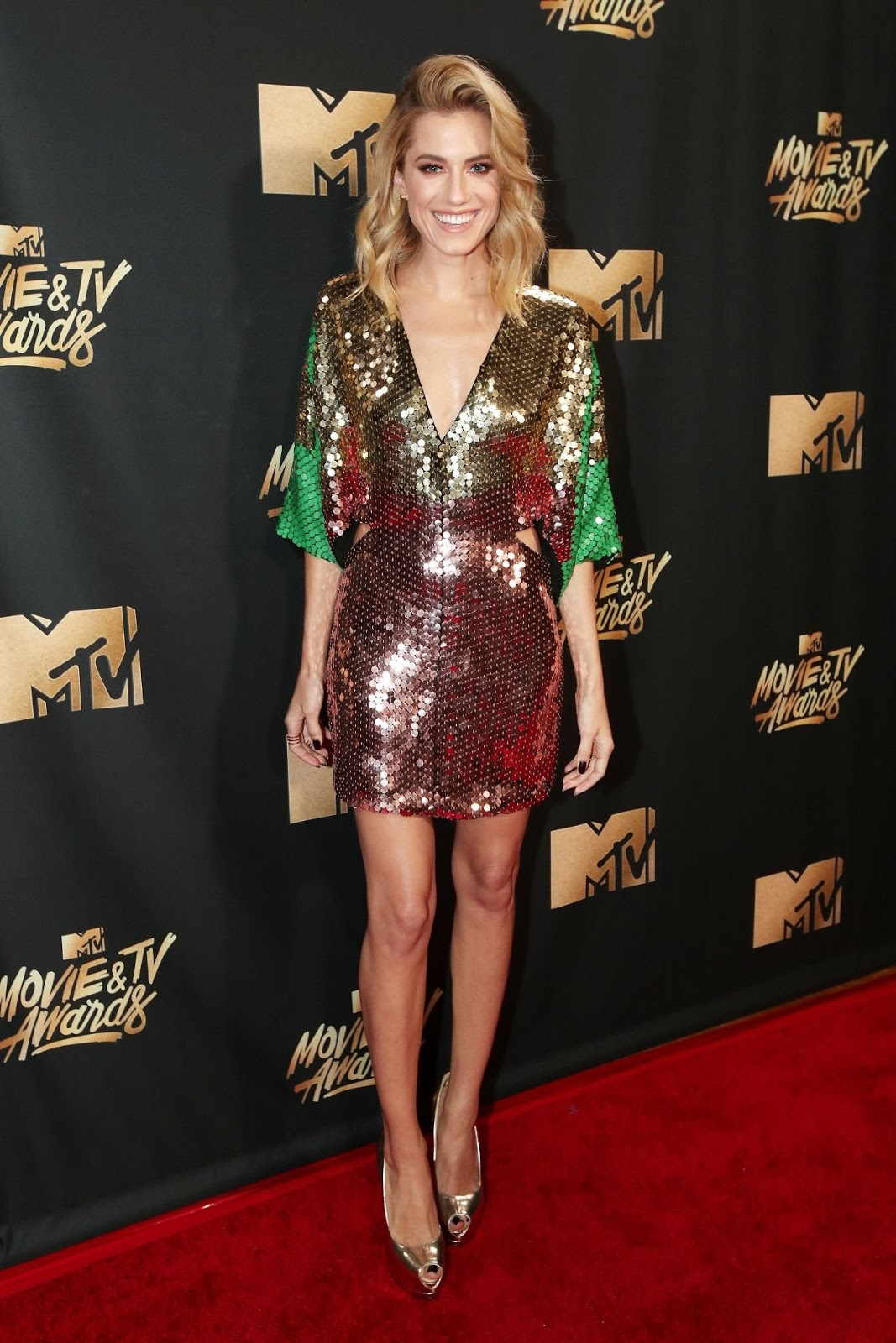 mtv movie awards 2017 allison williams