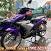 Mẫu Sơn xe máy Exciter 150 sơn phối màu tím bạc cực đẹp