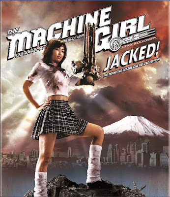The Machine Girl Jacked Definitive Decade One Dvd