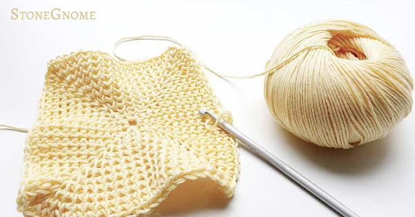 Dahlia Washcloths in the works