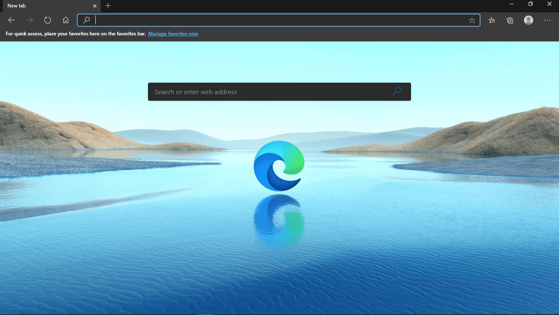 Merubah Homepage di Edge Chromium