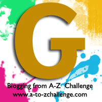 G is for Gold #AtoZChallenge