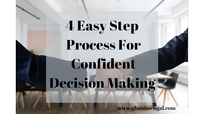 4 Easy Step Process Confident Decision Making