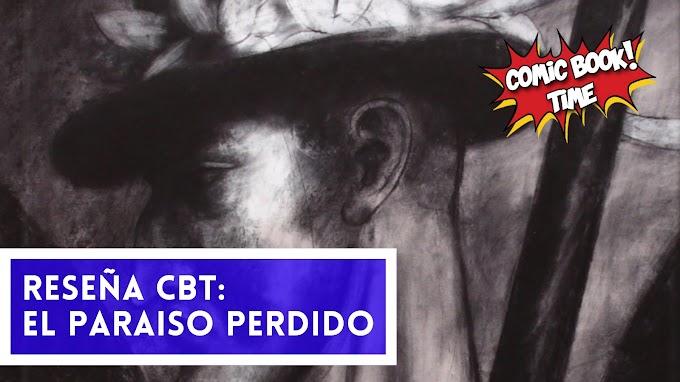 """Cómic reseña: """"El paraíso perdido"""" de Pablo Auladell"""