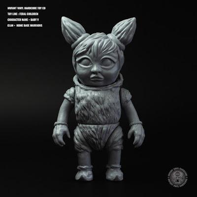 Feral Children Mixed Parts Edition Vinyl Figure by Mutant Vinyl Hardcore