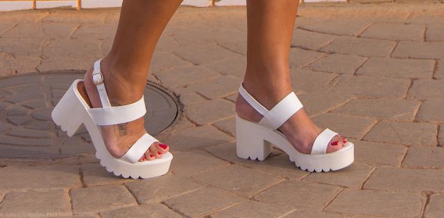 Como usar a sandália tratorada