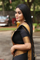 Poorna in Cute Backless Choli Saree Stunning Beauty at Avantika Movie platinum Disc Function ~  Exclusive 069.JPG