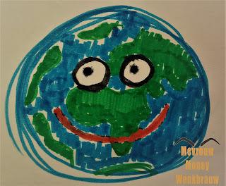 Blije wereld - happy world