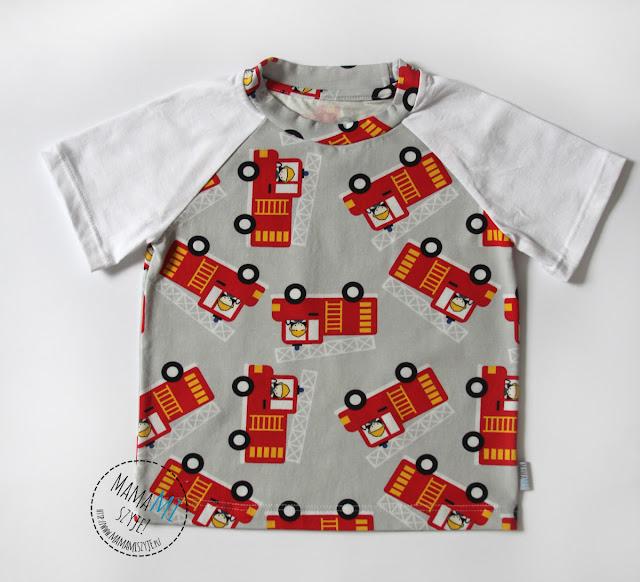 raglanowe koszulki dla dziecka