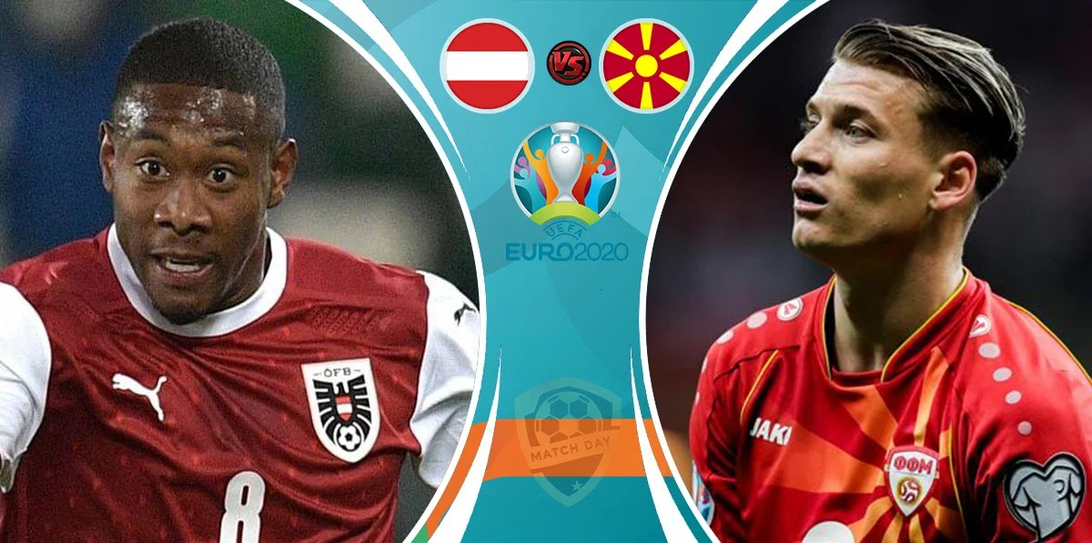 Austria vs North Macedonia Prediction and Match Preview