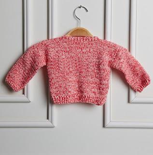 casaco infantil fácil de crochê