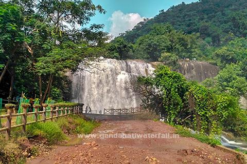 gandahati waterfall gajapati berhampur odisha images