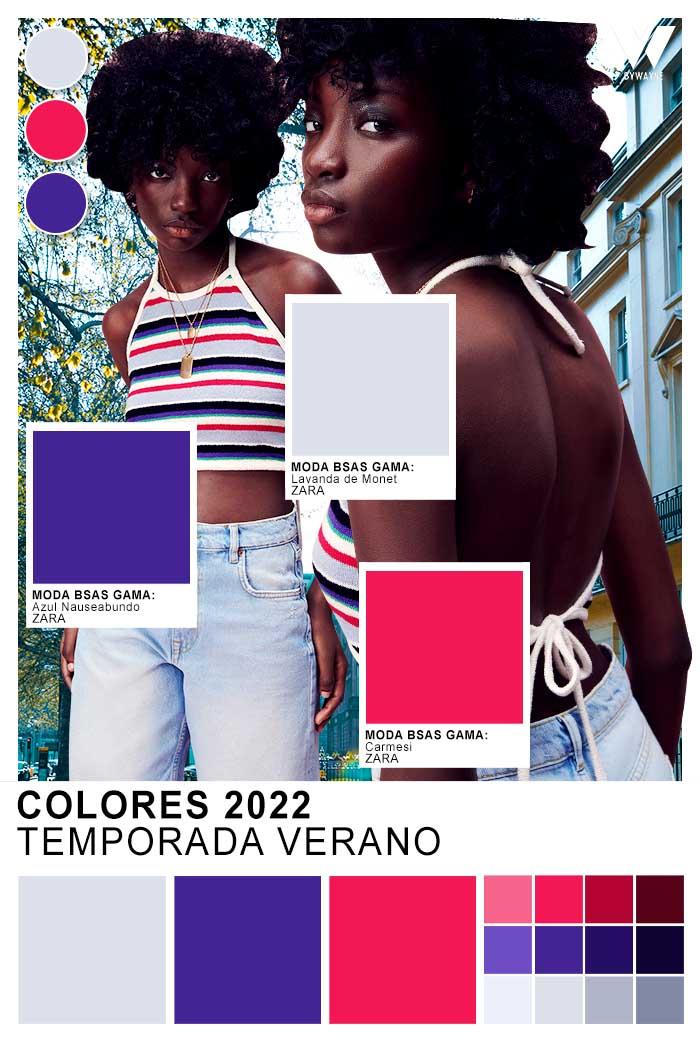 colores de moda mujer verano 2022