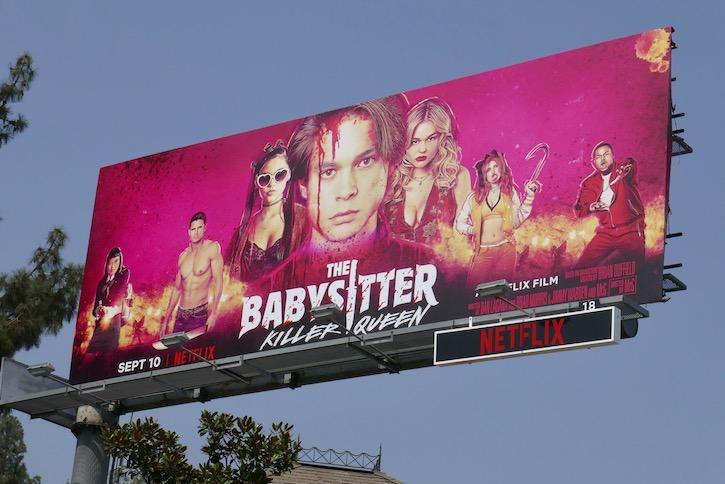 Babysitter Killer Queen Netflix film billboard