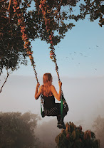 Life is like a swing and if its chains are connected with God, the joy of swinging becomes fearless.