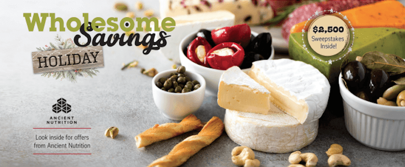 Wholesome Savings Coupons For Whole Foods Stores + Giveaway