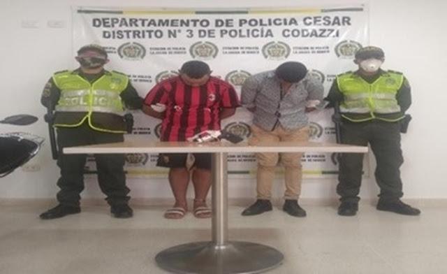 En moto y armados dos venezolanos patrullaban las calles de La jagua de Ibirico