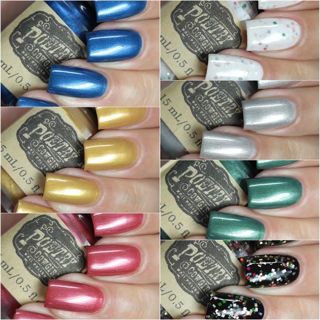 Poetry Cowgirl Nail Polish - Victorian Christmas Collection