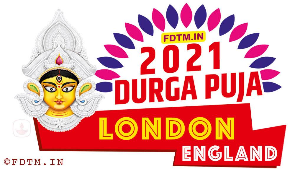 2021 London Durga Puja Calendar, 2021 England Durga Puja Calendar
