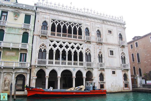 Palacio Ca d'Oro, Venecia