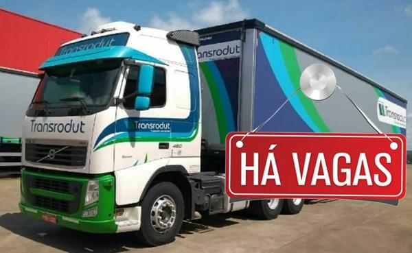 Trans Rodut abre vagas para Motorista Mercosul