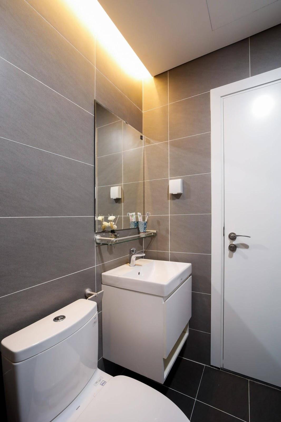 Nội thất phòng tắm tuyệt đẹp.