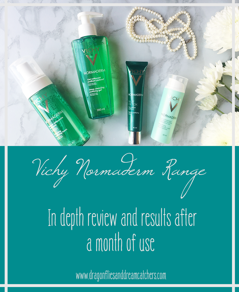 in depth review of the vichy normaderm range