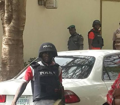 Armed Policemen Storm Dino Melaye's House... Police give reason