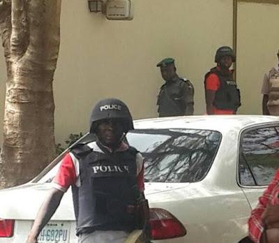 Armed Policemen Storm Dino Melaye's House... Police give reason